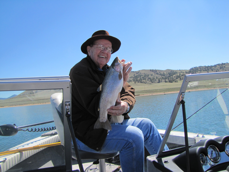 Colorado fishing pictures for Spinney reservoir fishing report